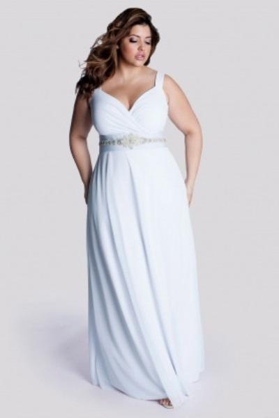 Свадебные платья для полных 2014 3