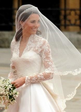 Свадебное платье Кейт Миддлтон 4