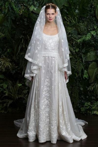 Очень пышные свадебные платья 2015 года фото