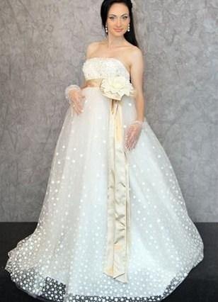 Свадебное платье для беременной ростов