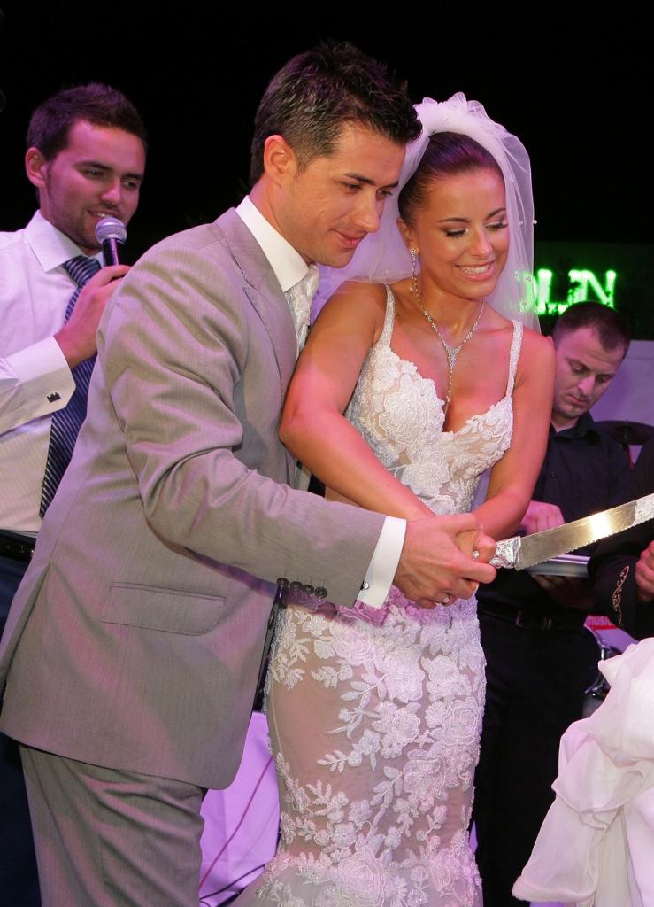 Свадебные платья звезд россии