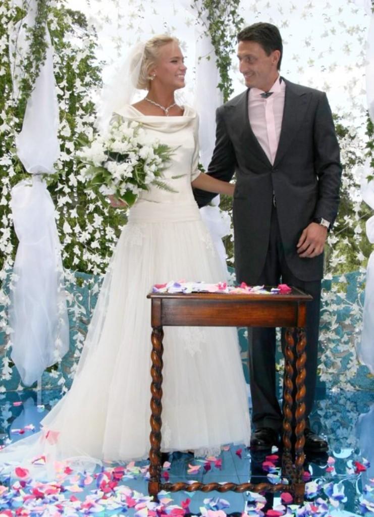 Свадебные фото звезд россии