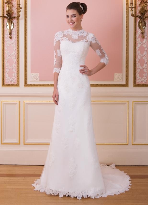 Ампир Свадебное Платье 2015 89