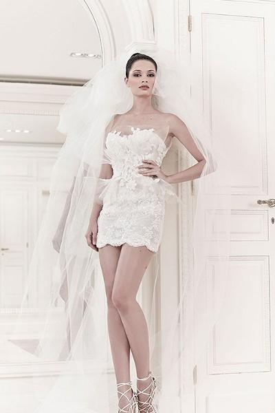 Свадебные платья мини 4
