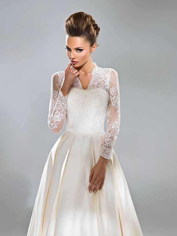 Свадебные платья с закрытыми руками фото