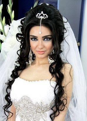 свадебные причёски с диадемой фото