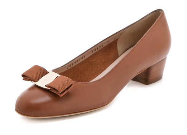 Туфли на низком каблуке 2222 какао лак CАТЕГ SATEG производство
