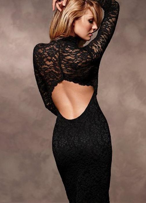 Фотосессии в платье с открытой спиной