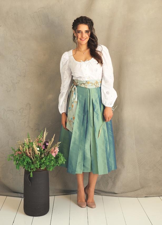 юбки со складками можно