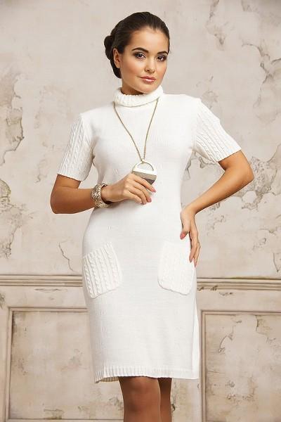 Стоит ли купить белое длинное вязаное платье , вязаные платья сейчас в моде? . PRINCESSA Ученик (113), закрыт 5 лет