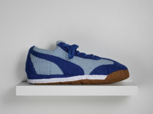 Вязаные кроссовки 4