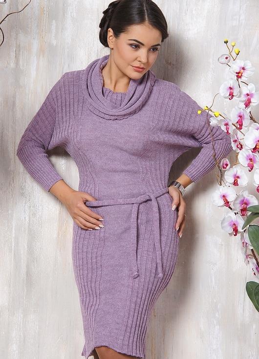 Вязанные платья для женщин