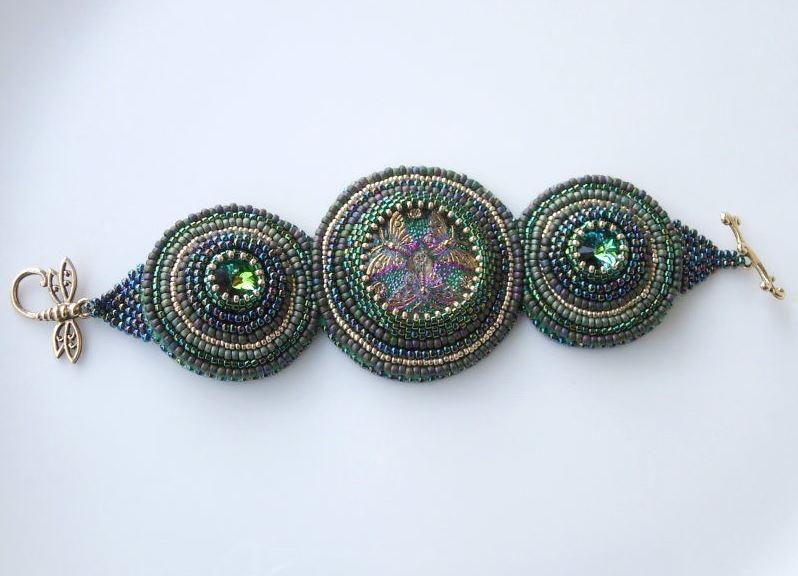 Вышивка бисером украшений мастер