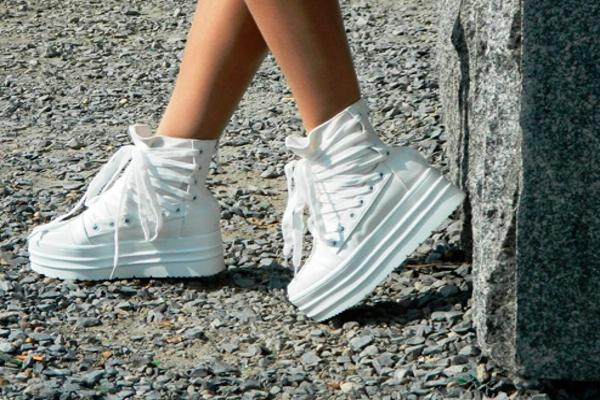 модные туфли под джинсы-бойфренды осень 2014