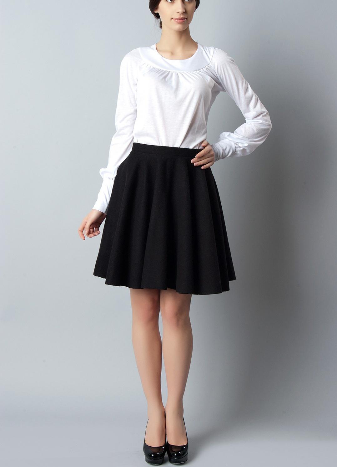 Короткие юбки расклешённые фото