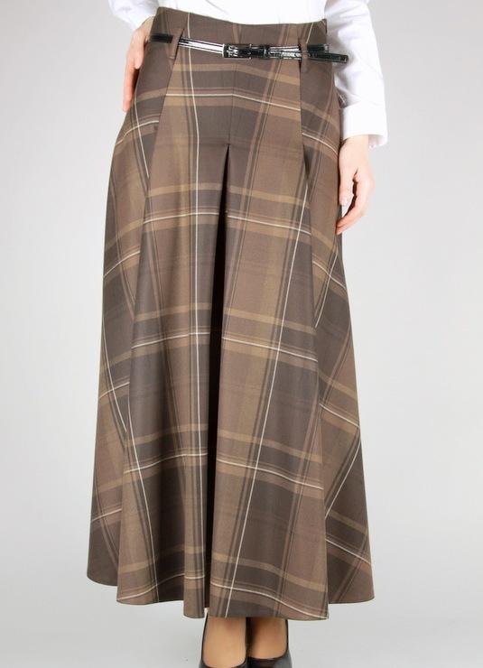 Фото юбка длинная в складку