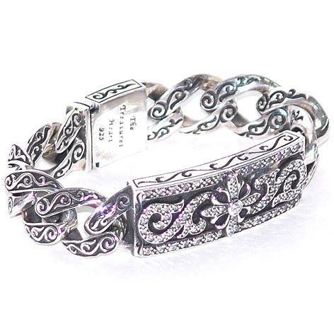 Серебро модные браслеты женские фото