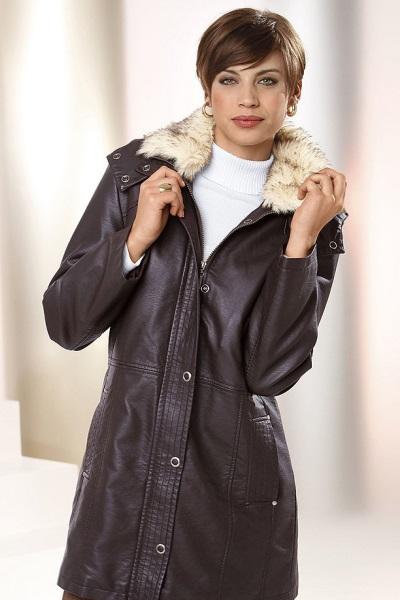 длинные зимние фото куртки