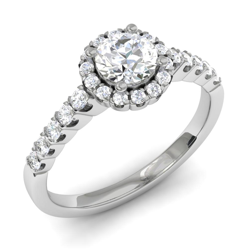 фото кольца с бриллиантом - mimege.ru