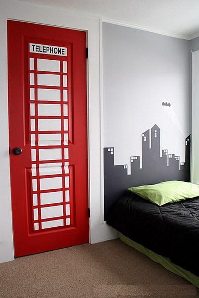 Как старую дверь сделать современной