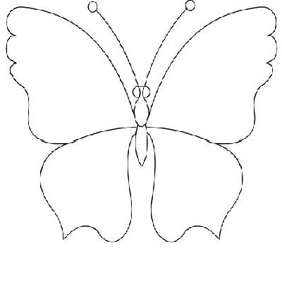 Как сделать трафареты бабочки своими руками
