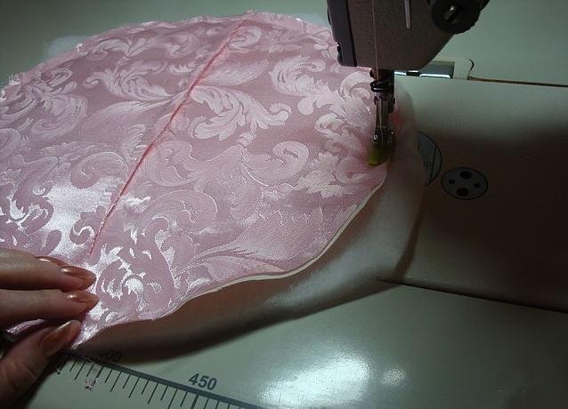 как сшить декоративную подушку 12