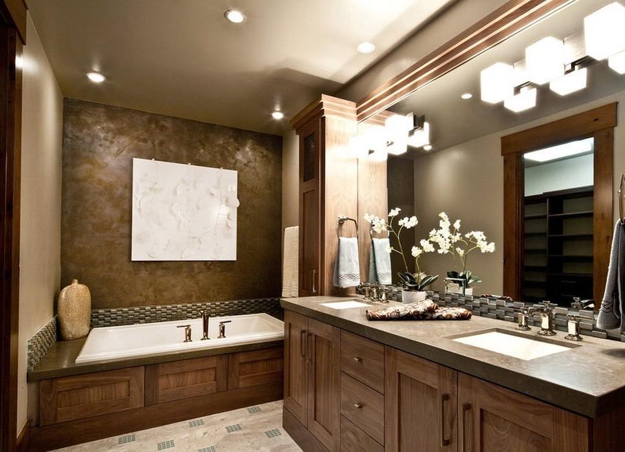 Штукатурка в ванной комнате