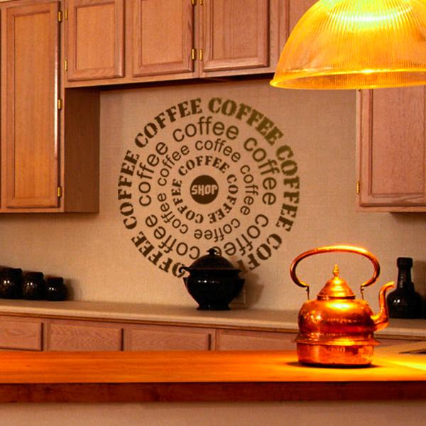 Виниловые наклейки для интерьера кухни
