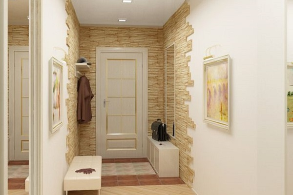 фото из камня отделка стен