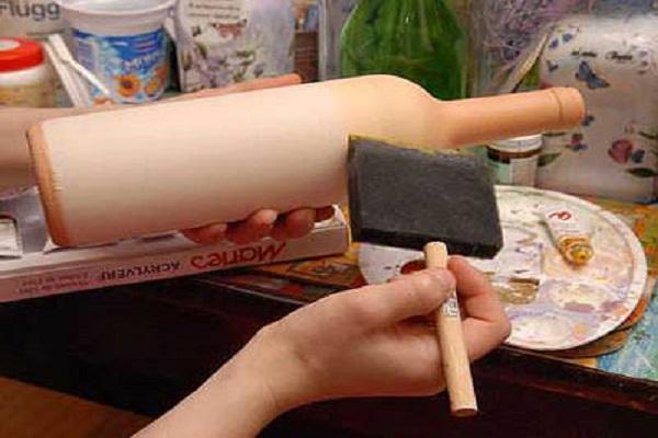 Краски для декупажа своими руками