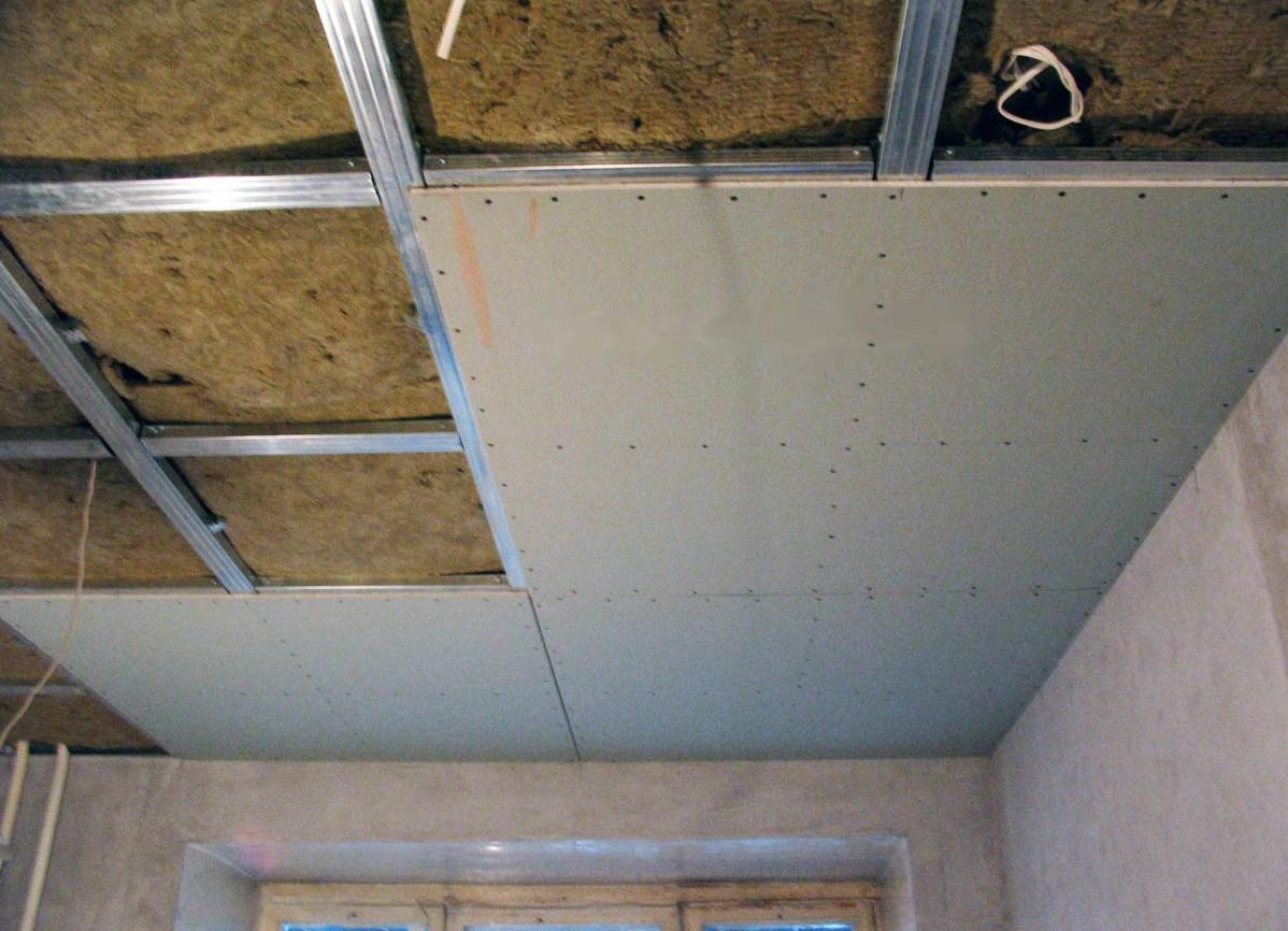 Как сделать потолок из гипсокартона в квартире своими руками
