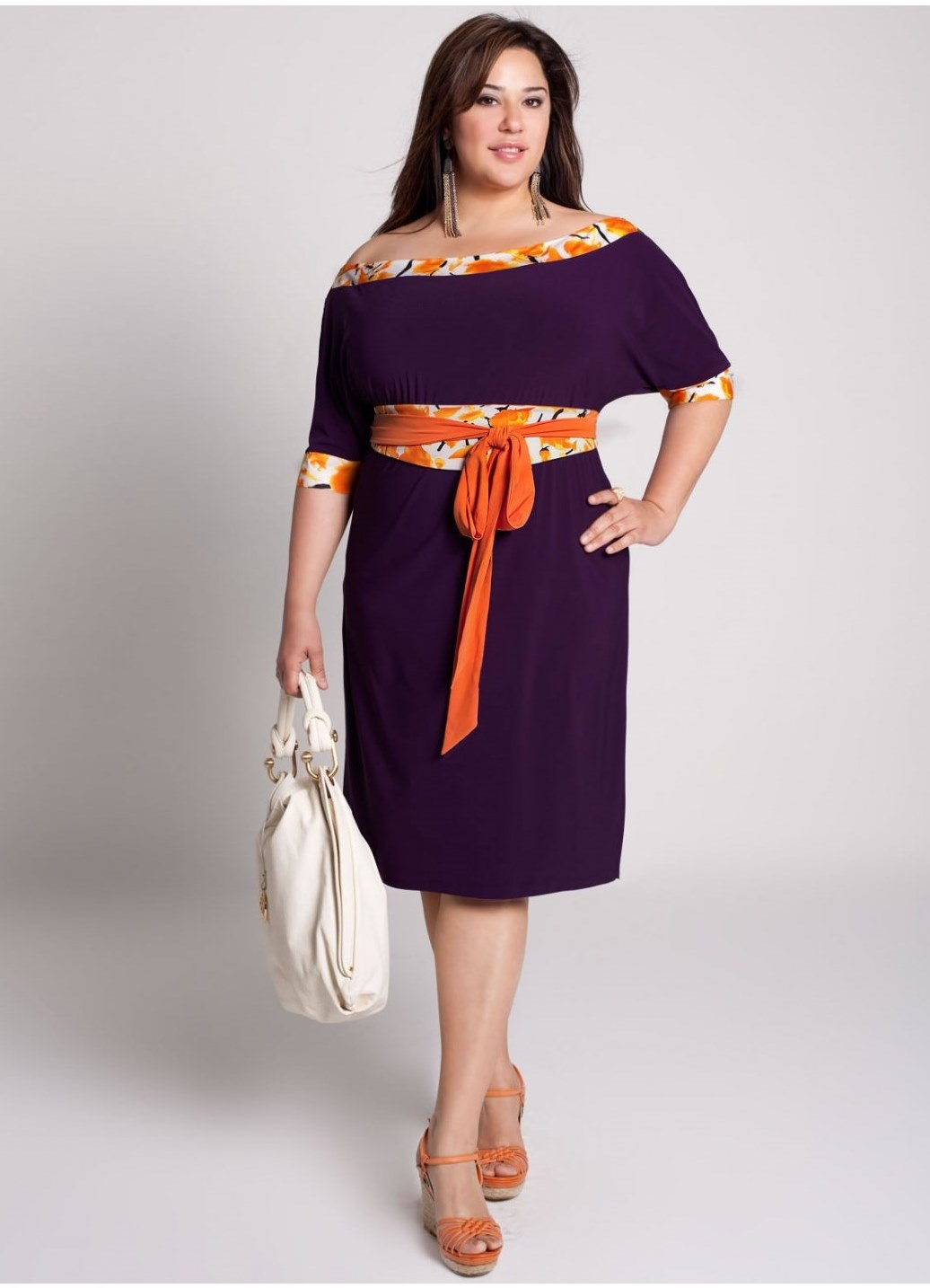 Сшить платье для полной женщины