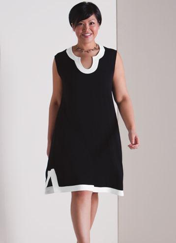 Сшить платье своими руками для полных из шифона