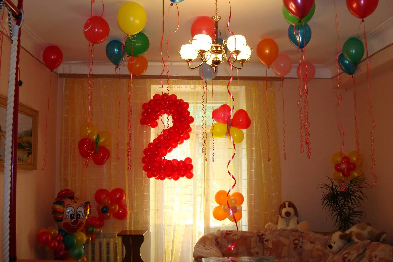 b033e7f820af Оформление первого Дня Рождения малыша - как украсить 1 год