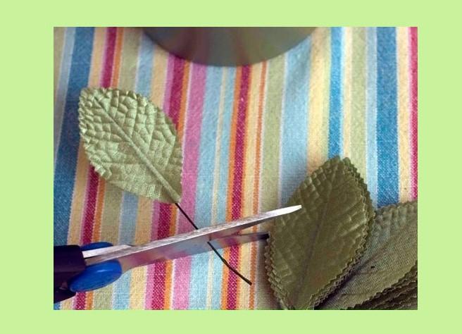 Листья из купюр своими руками