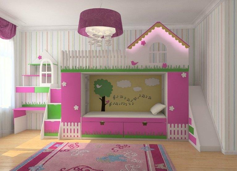 Интересные детские кровати
