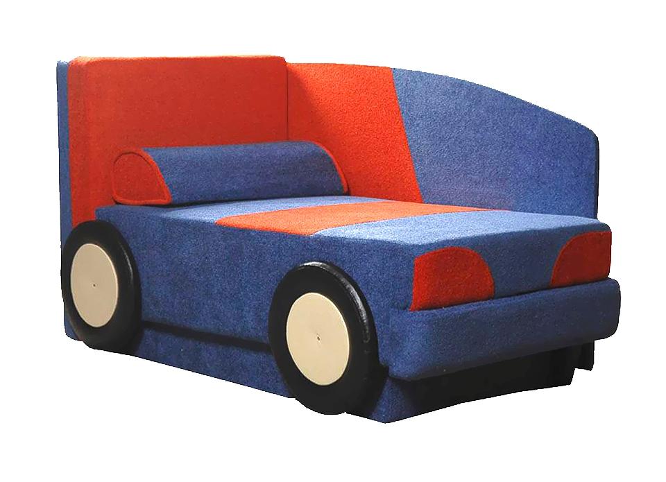 Рисунок на кресле машины