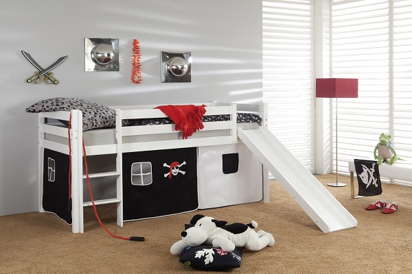 детские кровати с горкой фото