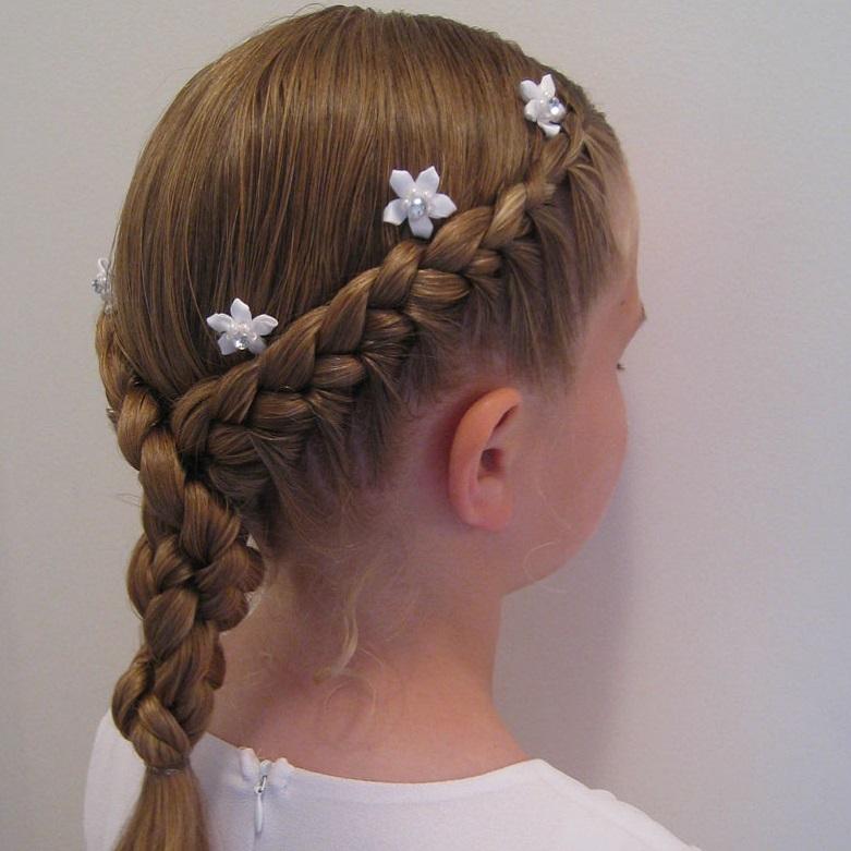 Прически на каждый день в школу для подростков для средних волос