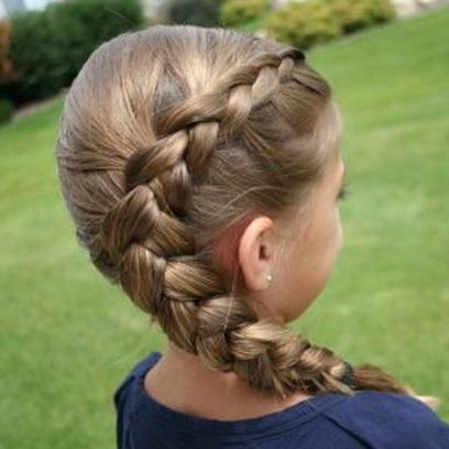 Причёски детские на каждый день