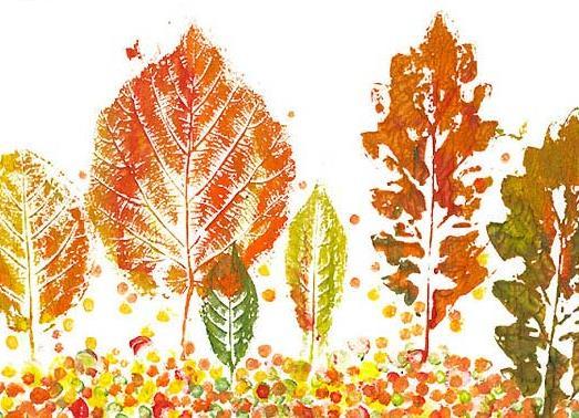 детские картинки рисунки осень