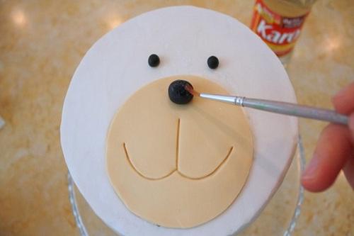 Торт детский из мастики своими руками рецепт с фото