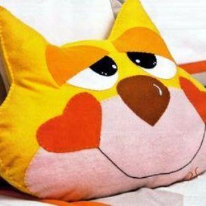391Как сшить подушку игрушку для ребенка