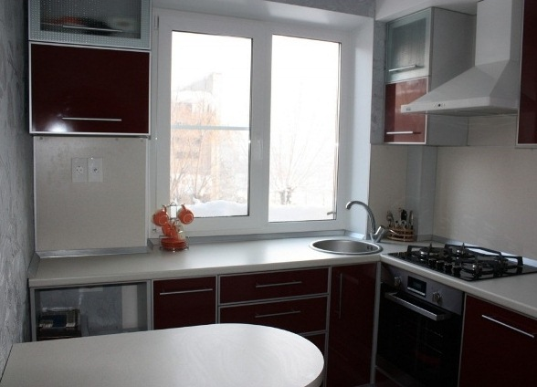 дизайн фото кухни маленькой