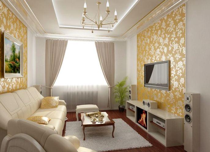 Дизайн гостинной комнаты в квартире