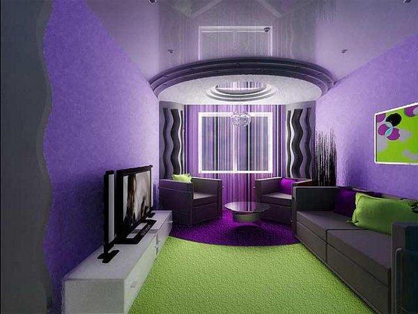 Дизайн залы в хрущевке