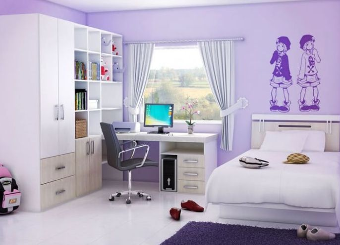 Дизайн комнаты для подростка девочки 16 лет фото
