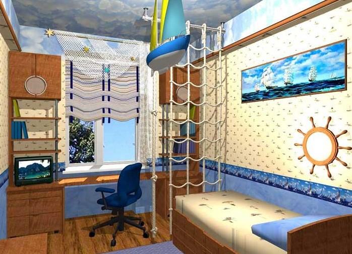 Подростковая комната для мальчиков дизайн