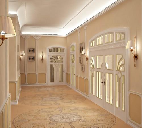 Дизайн коридоров в доме