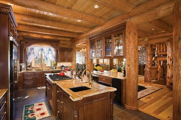 - Cool log home interior designs guide ...